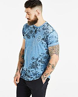 Jacamo Burnout T-Shirt Long