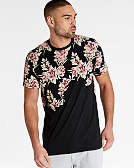Jacamo Cherry Blossom T-Shirt Long