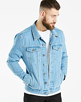 Jacamo 90s Wash Denim Jacket