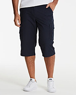 Jacamo Navy Atlas 3/4 Shorts