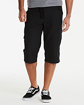 Black Atlas 3/4 Shorts