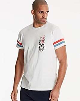 Jacamo Waves T-Shirt Long