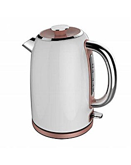 Tower 1.7L Stainless Steel Kettle White