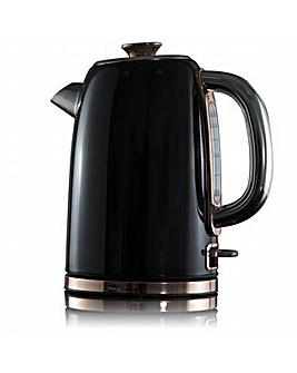 Tower 1.7L Stainless Steel Kettle Black