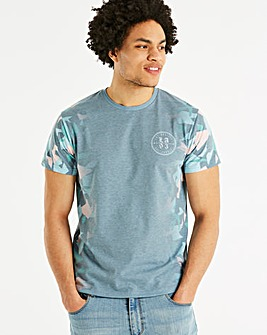 Jacamo Blocks Sub T-Shirt Long