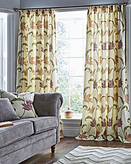Kinsale Lined Pencil Pleat Curtains