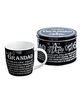 Best Grandad Mug in a Tin