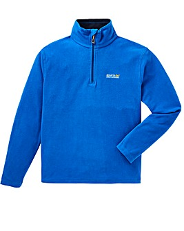 Regatta Blue Thompson 1/4 Zip Fleece
