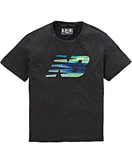 New Balance Graphic Heather Tech T-Shirt