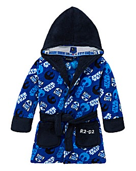 Star Wars Boys R2D2 Dressing Gown