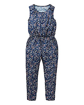 KD Girls Floral Print Jumpsuit
