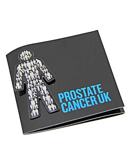 Prostate Cancer Pin Badge