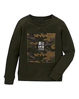 Boys Crew Neck Sweatshirt