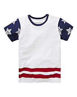 KD Boys Star Sleeve T-Shirt