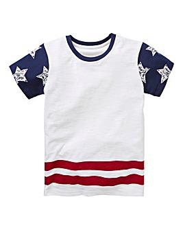 KD Boys Star Sleeve T-Shirt