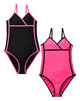 KD Girls Pack of Two Swimsuits