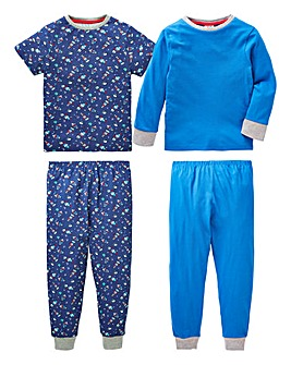KD Younger Boys Pack of Two Pyjamas