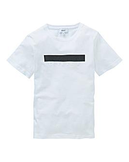 DKNY Boys Raised Print Logo T-Shirt