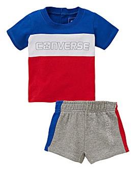 Converse Baby Boy Raglan Set
