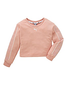 Puma Girls Style Crew Neck Sweat