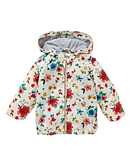 KD Baby Girl Lightweight Hooded Jacket