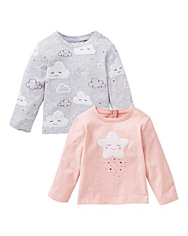 Baby Girl Pack of Two T-Shirts