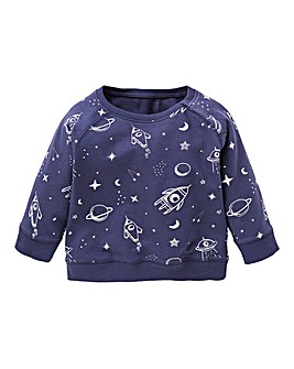 Baby Boy Crew Neck Sweatshirt