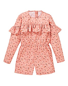 KD Girls Floral Playsuit
