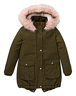 KD Girls Parka Coat