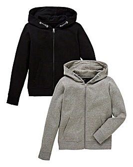 Boys Pack of Two Hoodies