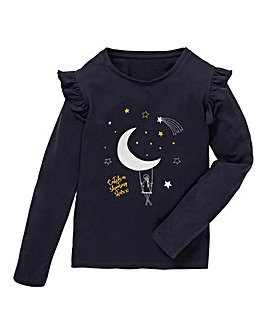 KD Girls Shooting Star Long Sleeve Tee