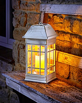 Cream Seville Solar Lantern