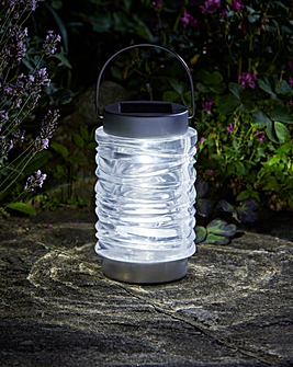 Wave Lantern Pack of Two