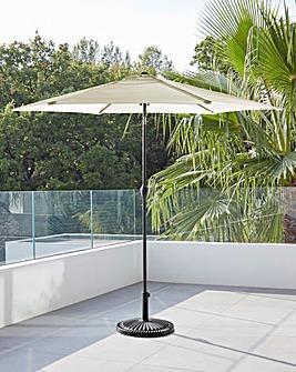 Cream Solana 2.5m Parasol