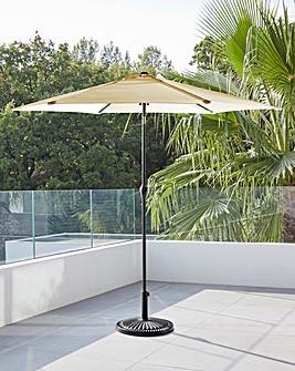 Natural Solana 3m Parasol
