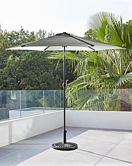Charcoal Solana 3m Parasol