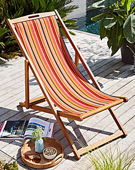 Riviera FSC Eucalyptus Deck Chair
