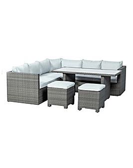 Marlow 6pc Modular Corner Dining Set