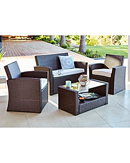 Kempton Lounge Set Brown