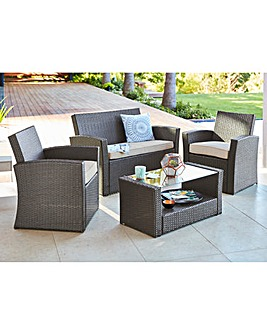 Kempton Lounge Set in Grey