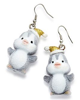Penguin Novelty Earrings