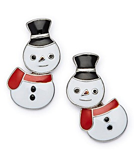 Snowman Novelty Earrings