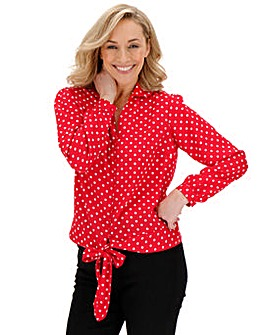 Joe Browns Popping Polka Dot Blouse