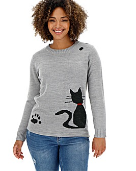 Joe Brown Little Misty Cat Jumper