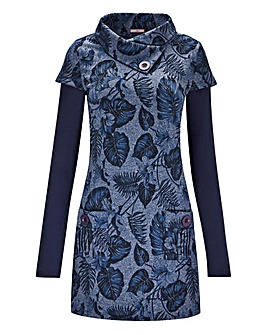 Joe Browns Tonal Blues Jacquard Tunic