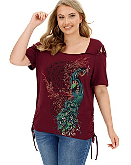 Joe Browns Peacock Top