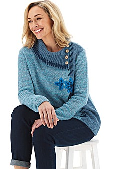 Joe Browns Shawl Collar Jumper