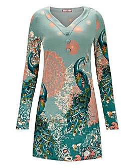 Joe Browns Parading Peacock Tunic