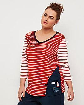 Joe Browns Nautical Sports Top