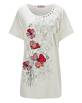 Joe Browns Gingham Poppy Top